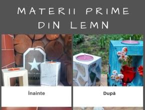 materii prime din lemn
