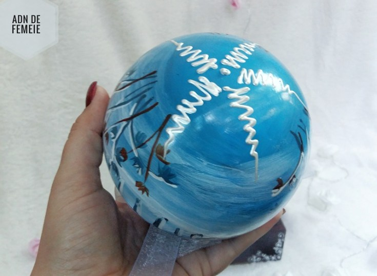 glob pictat handmade ARTelier de pictura