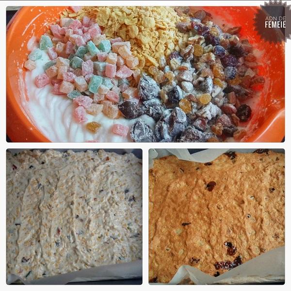 Aluat napolitane snickers sau prajitura crocanta cu caramel