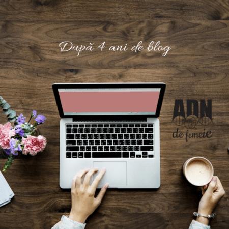 După 4 ani de blog