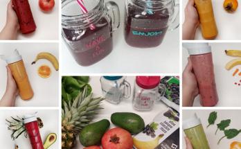 smoothie pe culori pentru copii si parinti