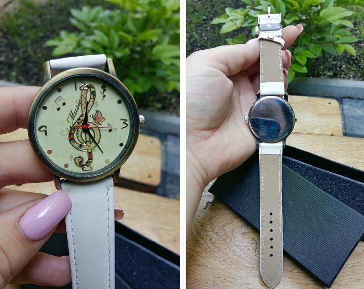 ceas alb de mana