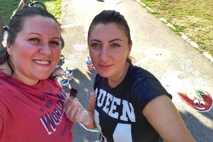 Alina Ierugan si Carmen Alexa