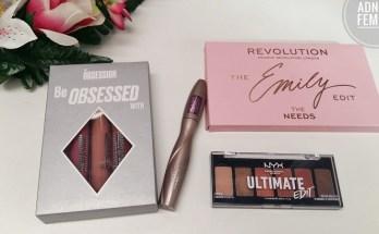 Produse cosmetice recent cumpărate