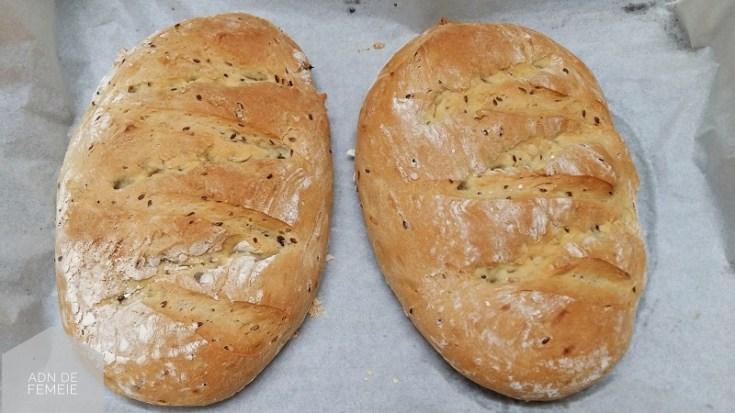 paine cu mix de seminte
