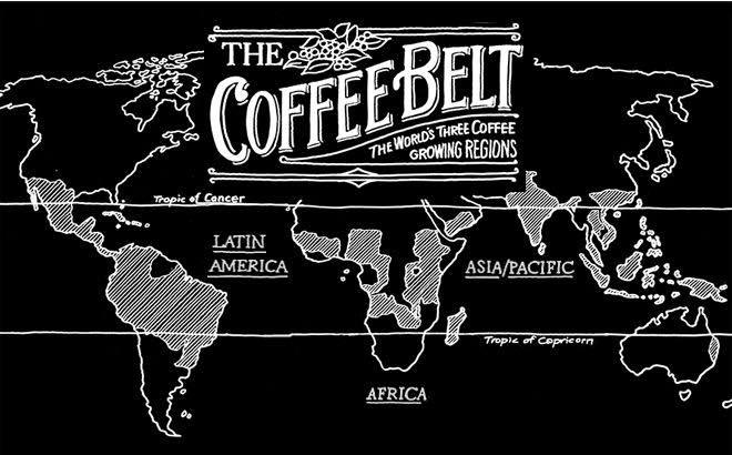 cafea origini