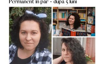 întreținere păr cu permanent