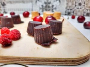 bomboane de ciocolată fără zahăr