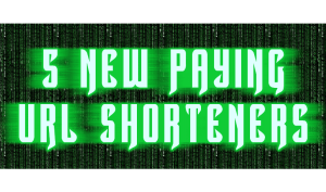 New Paying URL Shorteners