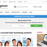 beginner-theme-an-ads-ready-wordpress-theme