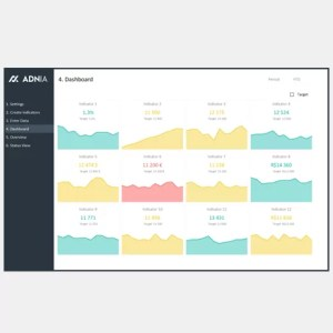KPI Dashboard Excel Template - Cover