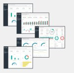 Financial Dashboard Template Package
