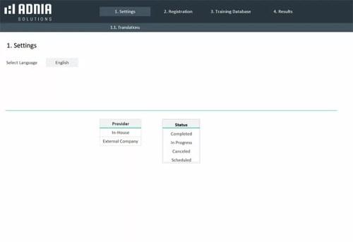 raining Tracker Excel Template - Settings