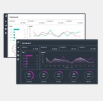 Excel Dashboard Layout Duo Theme 01 - cover
