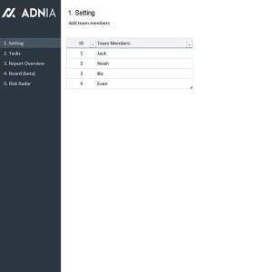 Accueil nouveau 2021, Adnia Solutions