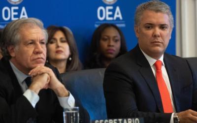 Colombia pide  mayor ofensiva diplomatica contra gobierno de Nicolas Maduro