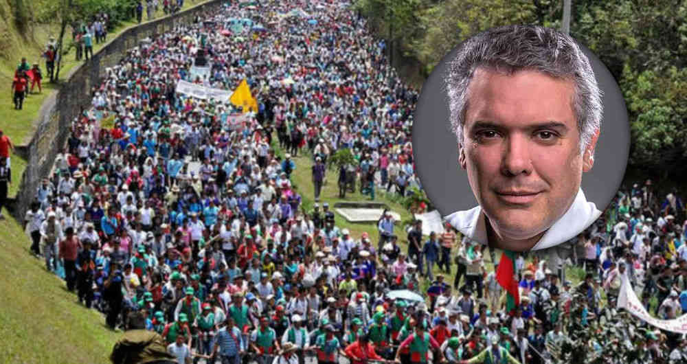 Sin solución paro indígena del cauca.. 16 días de bloqueo