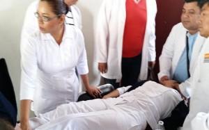 enfermera convulsion