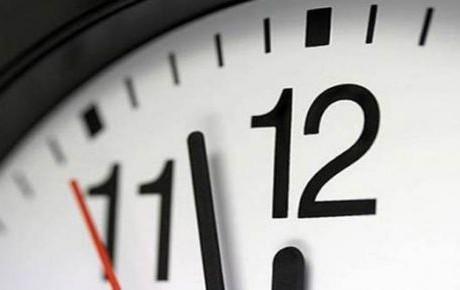 Horario de verano termina el 29 de octubre