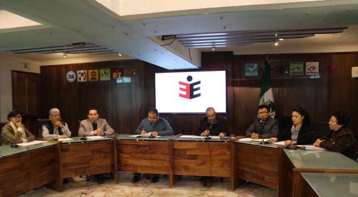 Conforme a la Ley, se aprueba financiamiento para partidos políticos (14:00 h)