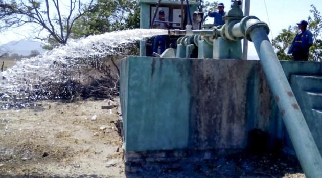 Distribución de agua potable en la ciudad para hoy 28 de junio (09:30 h)