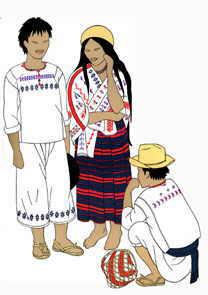 ropa mixtecos