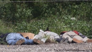 personas muertas autopista
