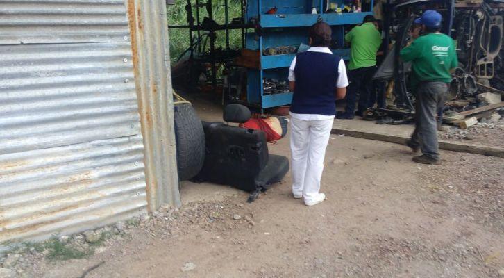 Sujetos tirotearon a una persona en Santo Domingo Barrio Bajo, Etla (18:28 h)