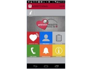 app issste infarto