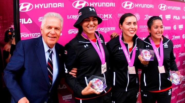 Mexicanas obtienen medalla de plata en Mundial de Tiro con Arco (17:00 h)