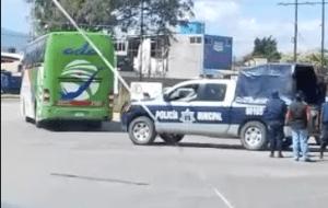 normalistas roban una patrulla 2