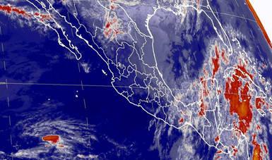 Intensa masa de aire polar generará en las próximas horas marcado descenso de temperatura (20:00 h)