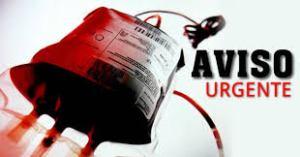 aviso donadores de sangre