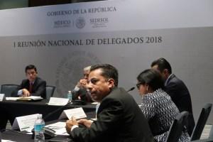 Reunión delegados Sedesol 2
