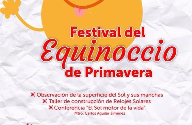 """Este miércoles, el """"Festival del Equinoccio de Primavera"""" (17:00 h)"""