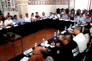 Sesión Permanente Consejo Municipal de Protección Civil (2)