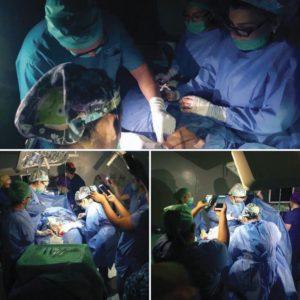cirugía con celulares