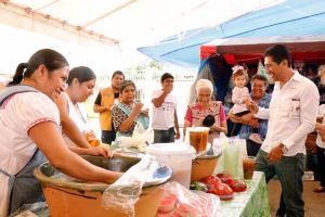 Comunicado ALJ.- Seguiremos fortaleciendo el desarrollo económico de Xoxocotlán López Jarquín (4)