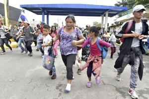 caravana migrantes