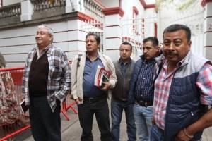 dirigentes CNTE