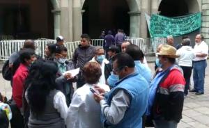 maestros en huelga de hambre
