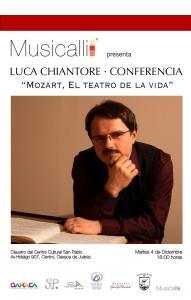 """CONFERENCIA """"MOZART, EL TEATRO DE LA VIDA"""""""