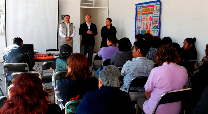 Capacita Gobierno capitalino a docentes y padres para actuar ante desastres (20:30 h)
