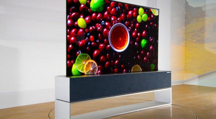 LG presenta la primera televisión enrollable (19:00 h)