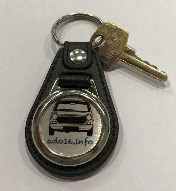 Leather Key Fob