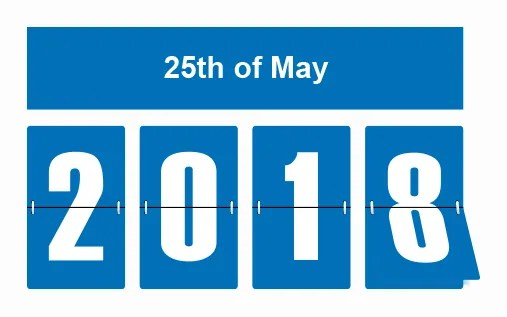 25th May 2018 sees the introduction of GDPR