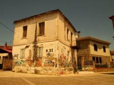 Παραδοσιακό σπίτι του οικισμού «Βαρούσι» στα Τρίκαλα (© Α. Μωυσιάδης).
