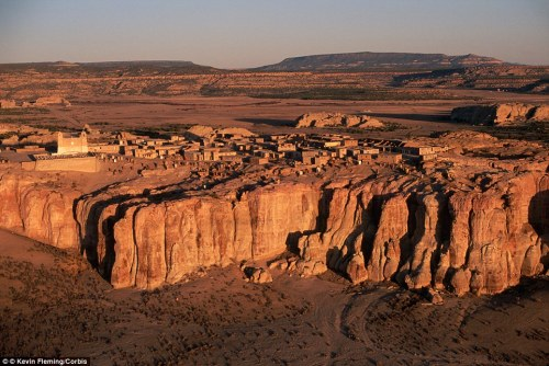 Acoma Pueblo: North America's Oldest Continuously Inhabited Settlement (Source: Daily Mail)