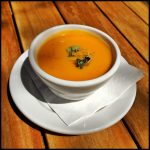 Butternut Squash and Coconut Soup at Sweetwater Harvest Kitchen in Santa Fe, New Mexico (Source: virtualDavis)