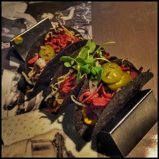 Eloisa's Pastrami Tacos (Source: Geo Davis)